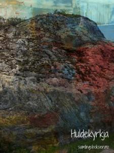 Steinen som vert kalla Huldrekyrkja.